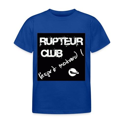 T shirt enfant Rupteur Club - T-shirt Enfant