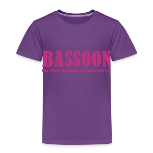 Bassoon, The ONLY instrument that matters! Kids - Kids' Premium T-Shirt