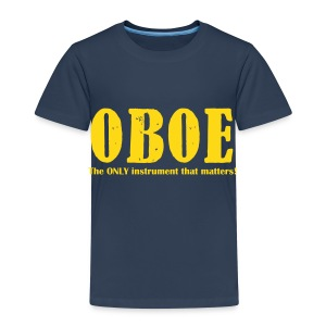 Oboe, The ONLY instrument that matters! Kids - Kids' Premium T-Shirt