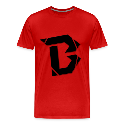 B Black Shirt - Männer Premium T-Shirt