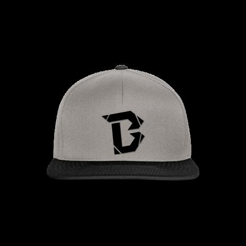 B Black Cap - Snapback Cap