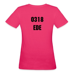 0318 EDE black print BIO COTTON - Vrouwen Bio-T-shirt