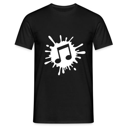 Music Splash Men's T-Shirt - Men's T-Shirt
