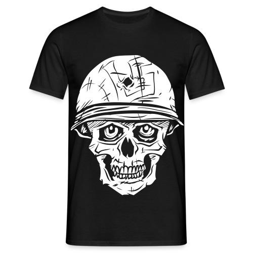 Luu5 Kallo - ei ääriviivoja - Miesten t-paita