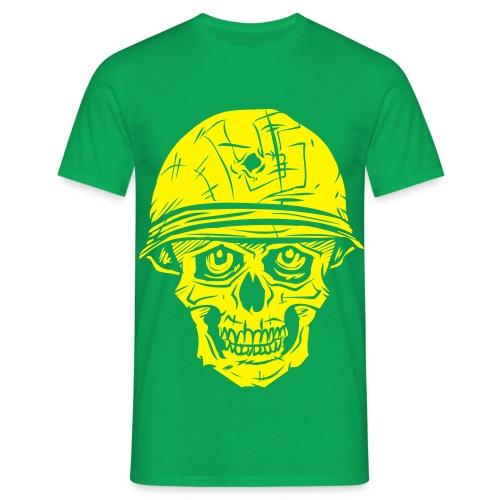 Luu5 Kallo - keltainen - Miesten t-paita