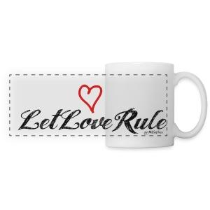 LetLoveRule - mug - Panoramatasse