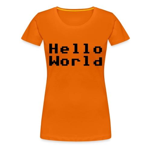 Hello! - Premium T-skjorte for kvinner