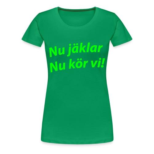 ... - Premium T-skjorte for kvinner