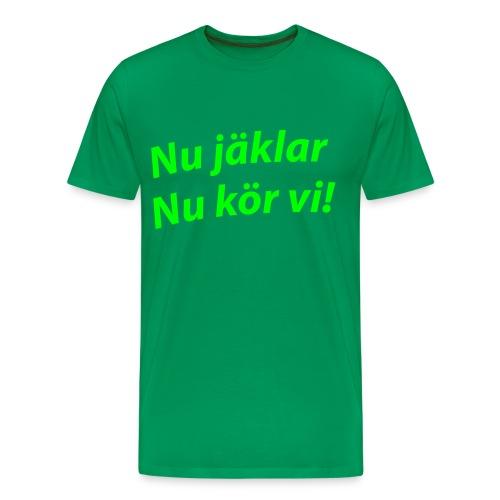 ... - Premium T-skjorte for menn