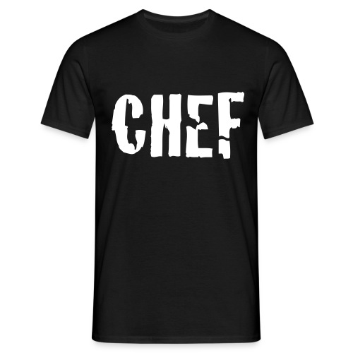 Heren T-shirt chef - Mannen T-shirt