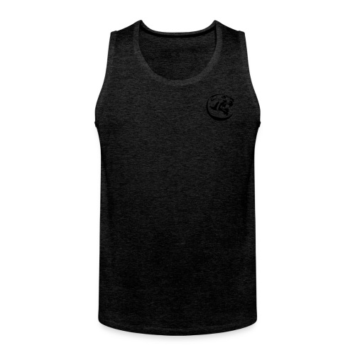 Black Panther Red Tank - Men's Premium Tank Top