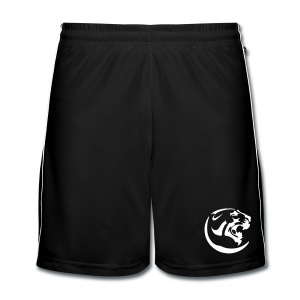 Black Panther Red Shorts - Men's Football shorts