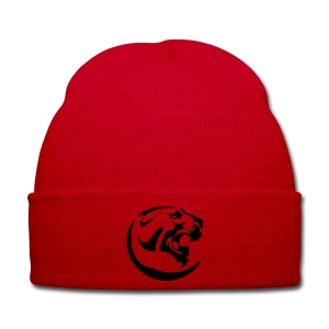 Black Panther Red Cap - Winter Hat