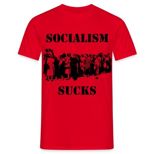 SOCIALISM SUCKS - Männer T-Shirt