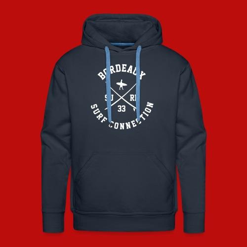 Sweat à capuche Homme - Sweat-shirt à capuche Premium pour hommes
