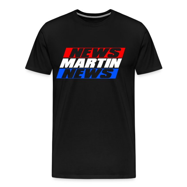 News Martin News Shirt