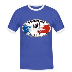 sport rugby france - T-shirt contrasté Homme