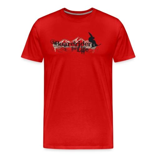 Boardrider 4 life 1 - Männer Premium T-Shirt