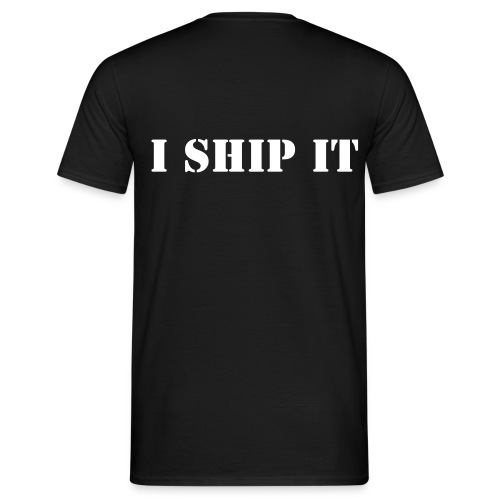 I ship it - Men's T-Shirt