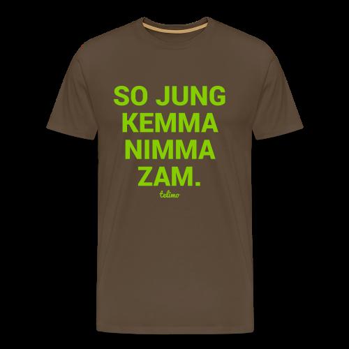 SO JUNG. Shirt - Männer Premium T-Shirt