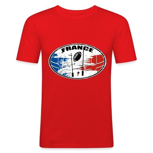 France sport rugby - T-shirt près du corps Homme
