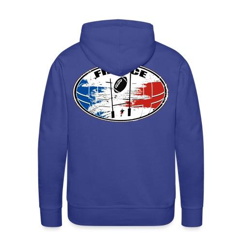 France sport rugby - Sweat-shirt à capuche Premium pour hommes