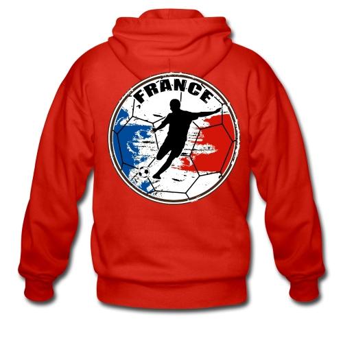 France sport football - Men's Premium Hooded Jacket