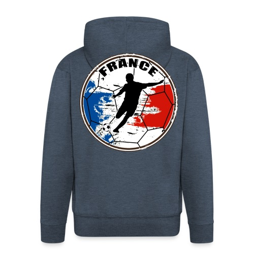 France sport football - Men's Premium Hooded Jacket