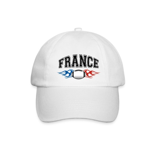 France sport rugby flaming - Casquette classique