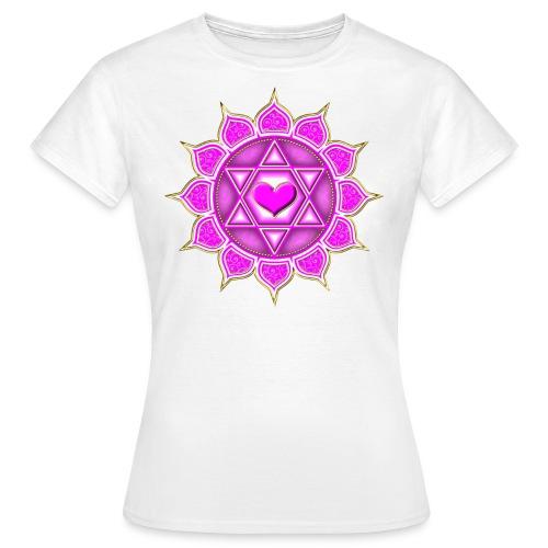 Dam T-shirt hjärta  - T-shirt dam