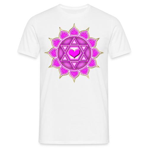 Herr T-shirt hjärta  - T-shirt herr