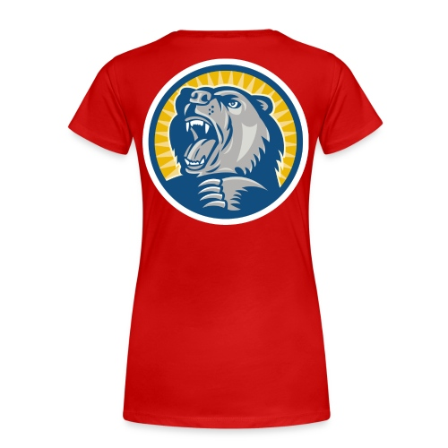 Björnbrottarlyftet II dam (valfri färg) - Premium-T-shirt dam