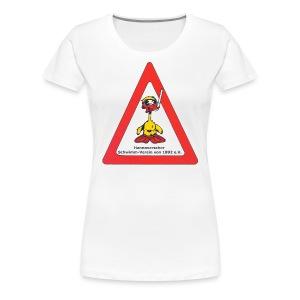 T-Shirt-Tauchen, Frauen - Frauen Premium T-Shirt