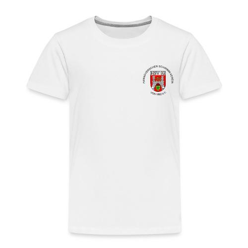 Vereins-T-Shirt, weiß, Kinder - Kinder Premium T-Shirt