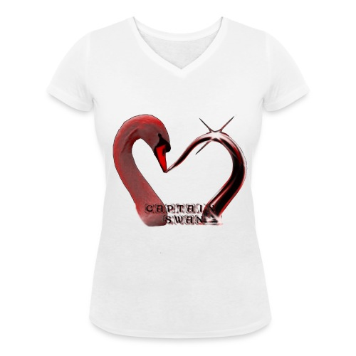 T-shirt Captain Swan - Women's Organic V-Neck T-Shirt by Stanley & Stella