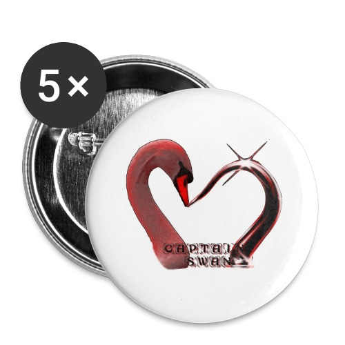 Badges Captain Swan - Buttons small 25 mm