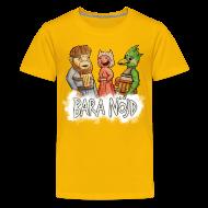 T-shirts ~ Premium-T-shirt tonåring ~ Bara nöjd citat