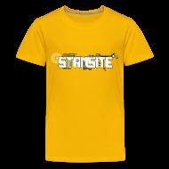 T-shirts ~ Premium-T-shirt tonåring ~ STAMSITE Logo