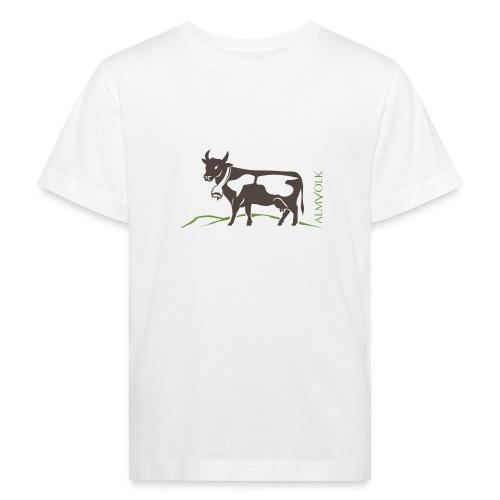 Kinder-Shirt ALMVOLK Almkuh - Kinder Bio-T-Shirt
