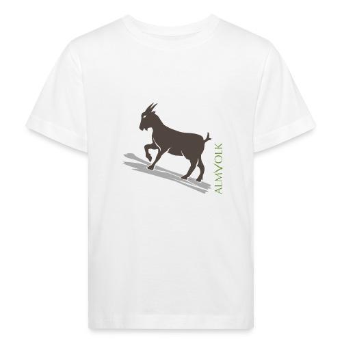 Kinder-Shirt ALMVOLK Gebirgsziege - Kinder Bio-T-Shirt