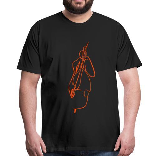 full size bass - Männer Premium T-Shirt