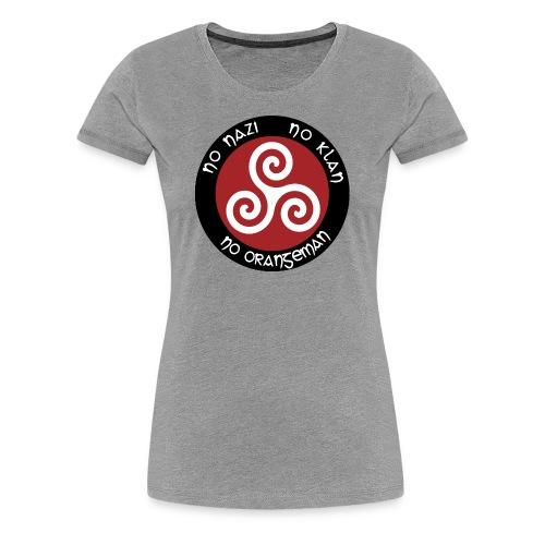 Celtic Antifascist - Women's Premium T-Shirt