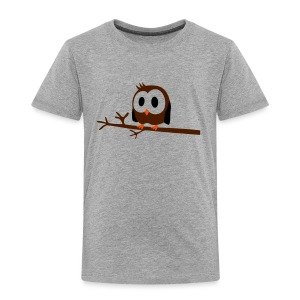 tiny owl  - Kinder Premium T-Shirt