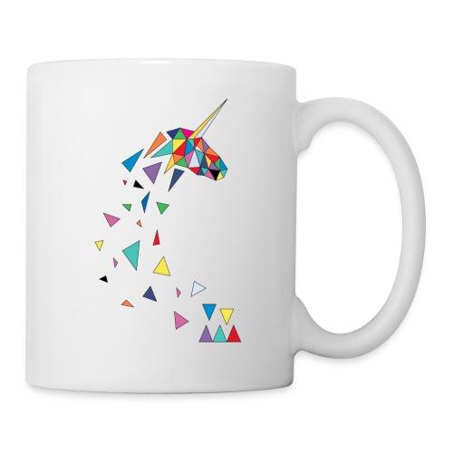 Mug Licorne Rainbow WALF - Mug blanc
