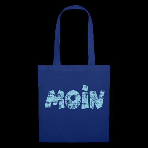 Moin (Vintage Hellblau) Stofftasche - Stoffbeutel