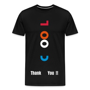 Cool T-Shirt blue oreange red - Männer Premium T-Shirt