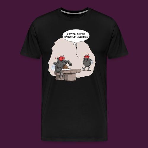 Hände gewaschen?! Shirt Herren - Männer Premium T-Shirt