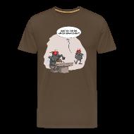 T-Shirts ~ Männer Premium T-Shirt ~ Hände gewaschen?! Shirt Herren