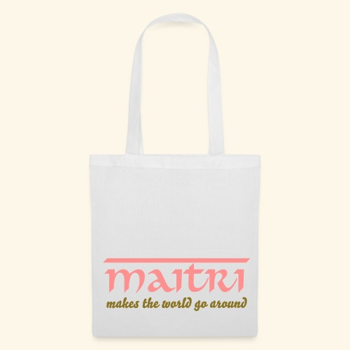 Loving Kindness - Maitri to the World Tote Bag - Stoffbeutel
