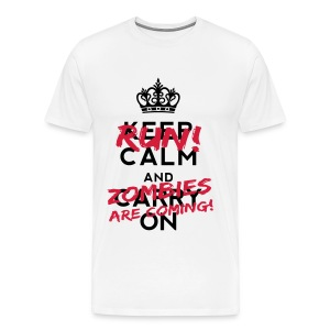 Keep Calm and RUN ! - Männer Premium T-Shirt